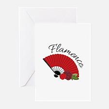 Flamenca Greeting Cards