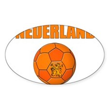 Nederland voetbal soccer Decal