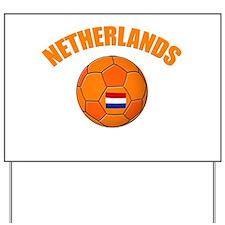Netherlands soccer Yard Sign