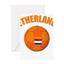 Netherlands soccer Greeting Cards