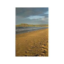 sand on 7 mile beach Rectangle Magnet