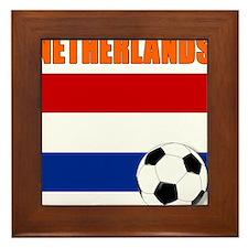 Netherlands soccer Framed Tile