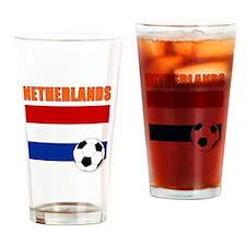 Netherlands soccer Drinking Glass