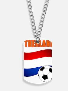 Netherlands soccer Dog Tags