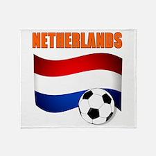 Netherlands soccer Throw Blanket