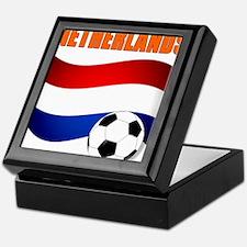 Netherlands soccer Keepsake Box