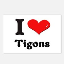 I love tigons  Postcards (Package of 8)