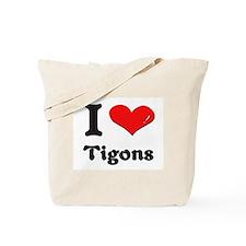 I love tigons Tote Bag