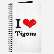 I love tigons Journal
