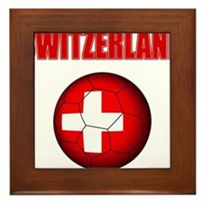 Switzerland soccer Framed Tile