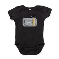 Sardine Fish Can Baby Bodysuit