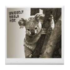 Uniquely KoalaFide Tile Coaster