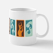 Four Elements Zodiac Earth Air Fire Water Mugs