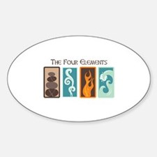 The Four Elements Decal
