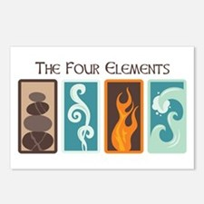 The Four Elements Postcards (Package of 8)