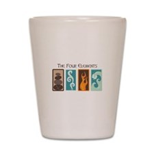 The Four Elements Shot Glass