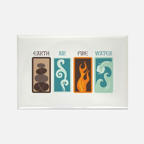 Earth Air Fire Water Magnets