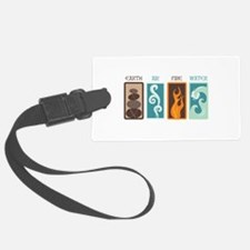 Earth Air Fire Water Luggage Tag