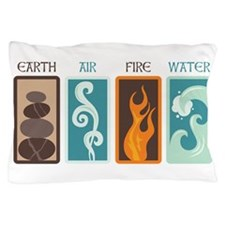 Earth Air Fire Water Pillow Case