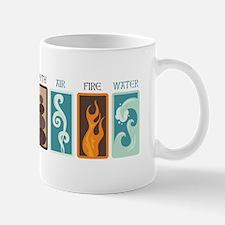 Earth Air Fire Water Mugs