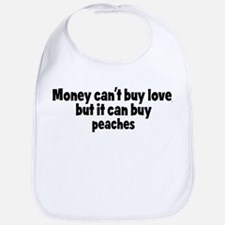 peaches (money) Bib
