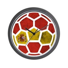 Spain World Cup 2014 Wall Clock