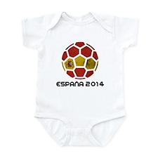 Spain World Cup 2014 Infant Bodysuit