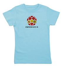 Spain World Cup 2014 Girl's Tee