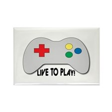 Live To Play! Magnets