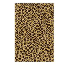 Leopard fur Postcards (Package of 8)
