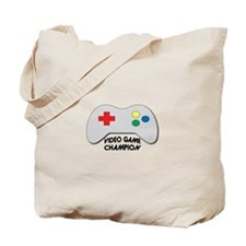 Video Game Champion Tote Bag