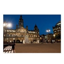 George Square, Glasgow il Postcards (Package of 8)