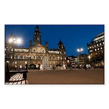 George Square, Glasgow illumin Decal