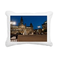 George Square, Glasgow i Rectangular Canvas Pillow