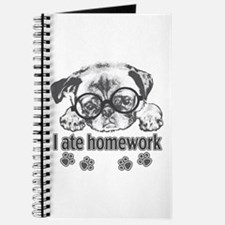 I ate homework Journal