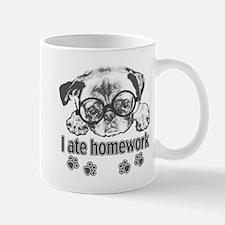 I ate homework Mug