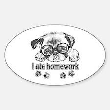 I ate homework Decal