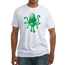 Cute green 6 armed Alien with one e Shirt