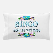 Bingo Heart Happy Pillow Case