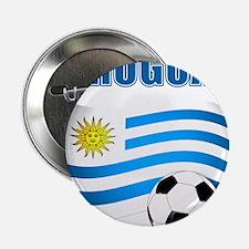 """Uruguay soccer futbol 2.25"""" Button (10 pack)"""
