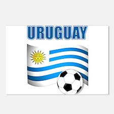 Uruguay soccer futbol Postcards (Package of 8)