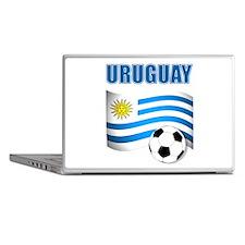 Uruguay soccer futbol Laptop Skins