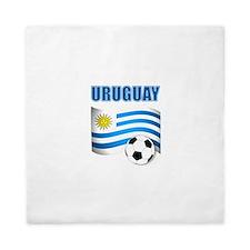 Uruguay soccer futbol Queen Duvet