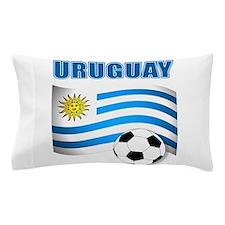 Uruguay soccer futbol Pillow Case