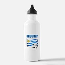 Uruguay soccer futbol Water Bottle