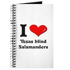 I love texas blind salamanders Journal