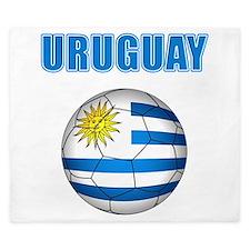 Uruguay soccer futbol King Duvet