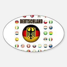 Deutschland Fussball Decal