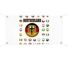 Deutschland Fussball Banner