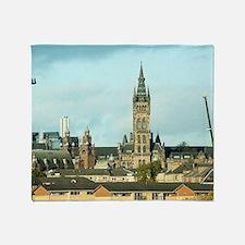 University of Glasgow Throw Blanket